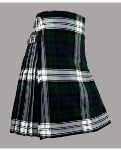 Black watch dress tartan kilt